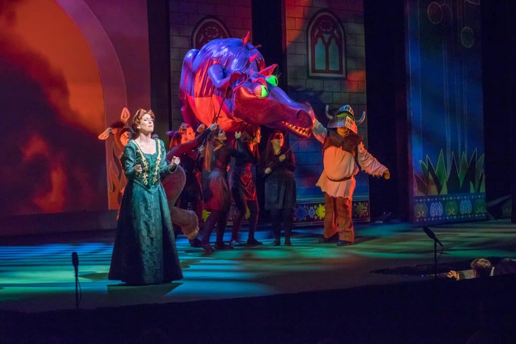 Shrek the Musical: Photo by John Anderson