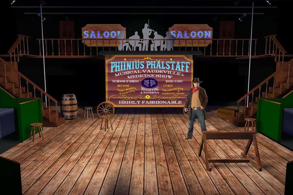 Cowboys! Rendering 01