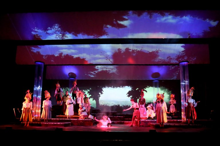 Projections on Stage Part II: Making Good Use of Ordinary Projectors