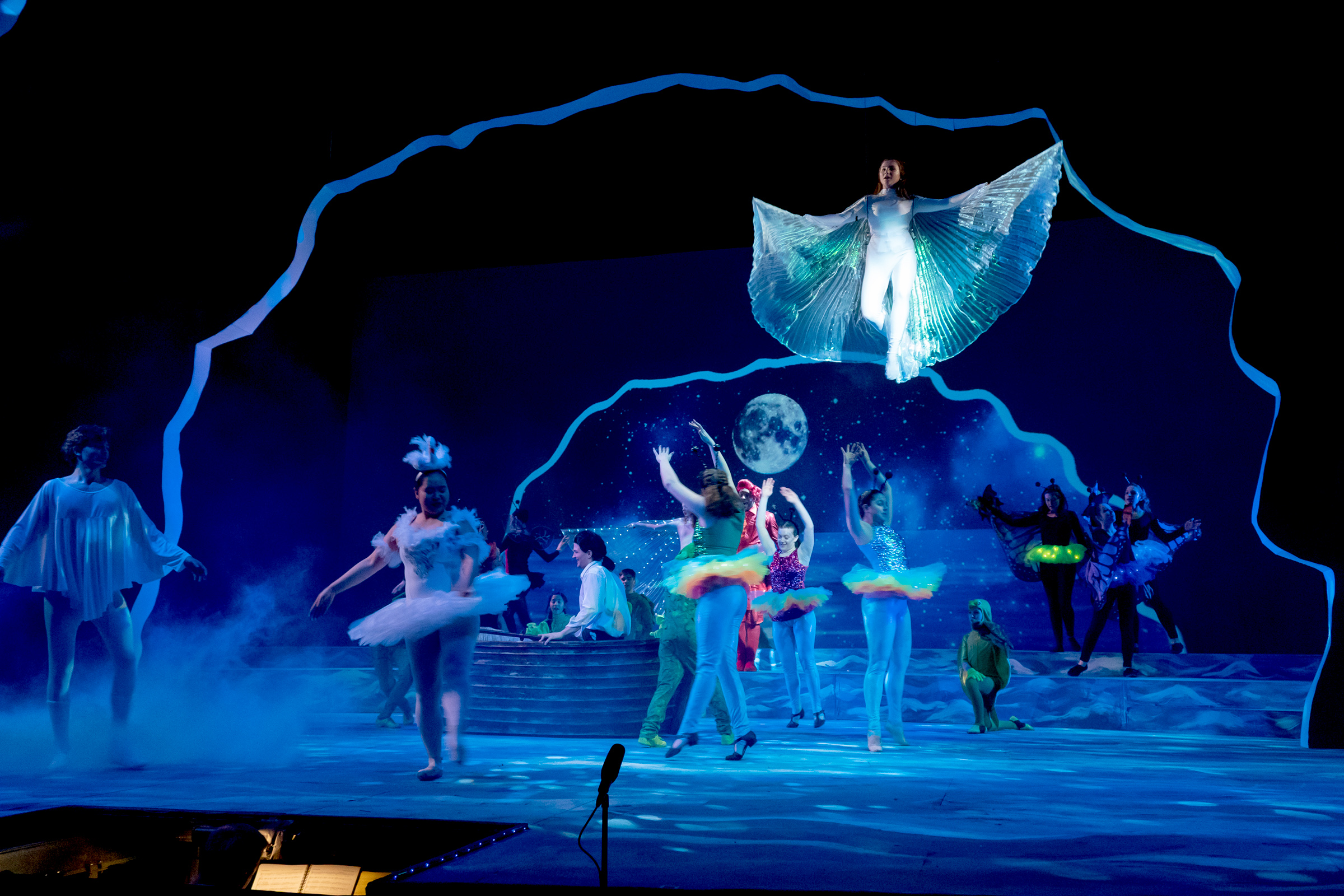 Making Projection Media for Disney's The Little Mermaid