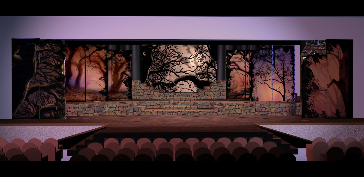 Changing Scenery with Story Book Panels