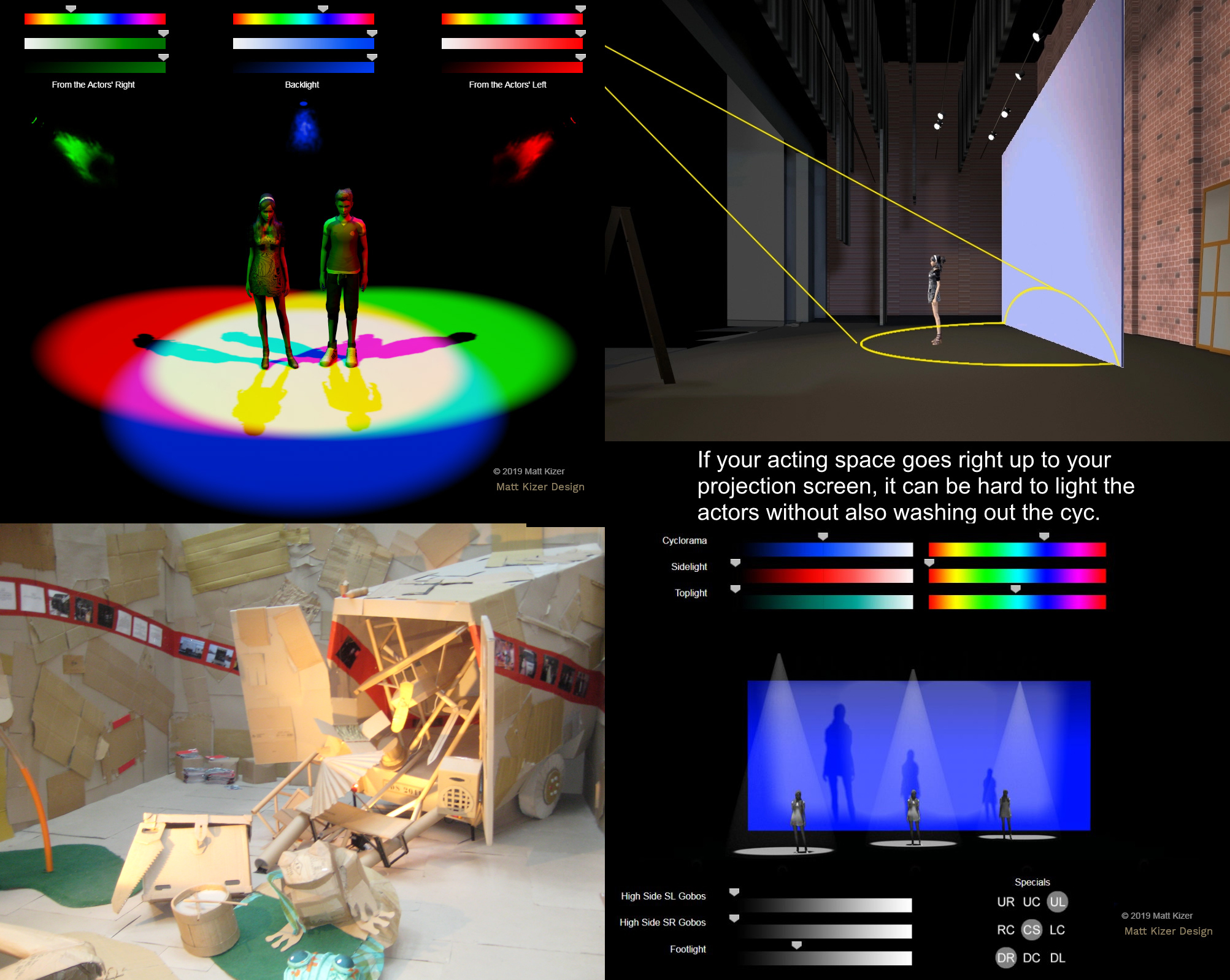 Online Teaching Resources for Theatre Design & Technology