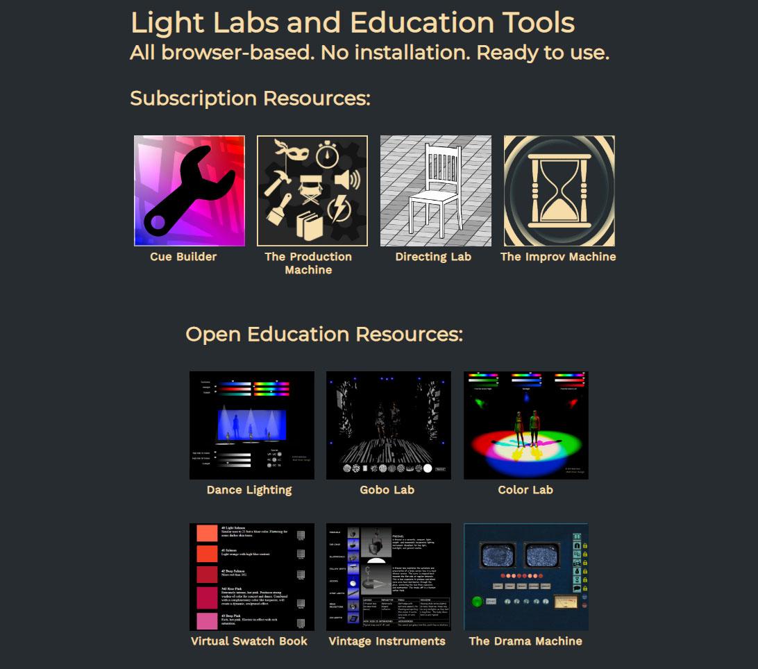 Online Theatre Education Resources